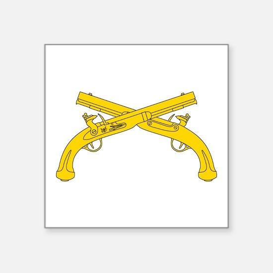 """Cute Insignia Square Sticker 3"""" x 3"""""""