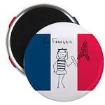 French Flag Magnet
