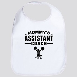 Mommys Assistant Cheer Coach Bib