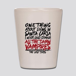 Lost Boys All The Damn Vampires Shot Glass