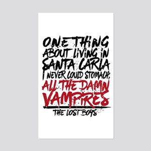Lost Boys All The Damn Vampires Sticker