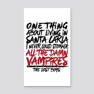 Lost Boys All The Damn Vampires Rectangle Car Magn