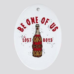 Lost Boys Be One Of Us Oval Ornament