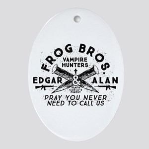 The Lost Boys Frog Brothers Oval Ornament