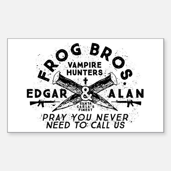 The Lost Boys Frog Brothers Decal