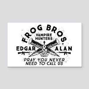 The Lost Boys Frog Brothers Rectangle Car Magnet