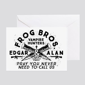 The Lost Boys Frog Brothers Greeting Cards