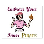 Inner Pirate Small Poster