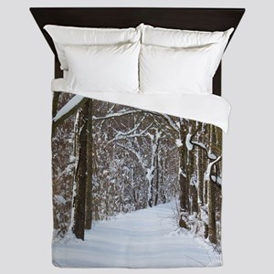 nature trail Queen Duvet