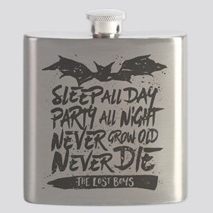 Lost Boys Never Grow Old Flask