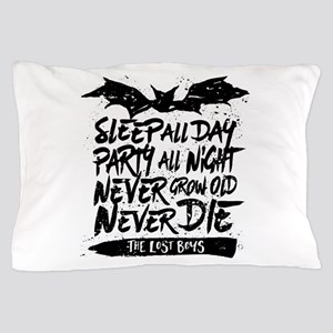 Lost Boys Never Grow Old Pillow Case