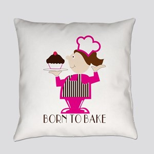 Born To Bake Everyday Pillow