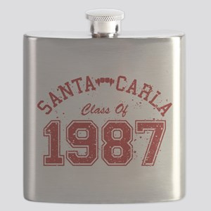 Santa Carla Class Of 1987 Flask