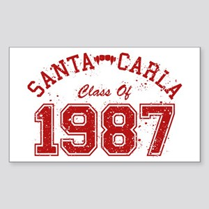Santa Carla Class Of 1987 Sticker