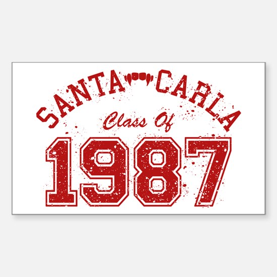 Santa Carla Class Of 1987 Decal