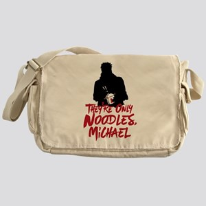 They're Only Noodles Michael Messenger Bag