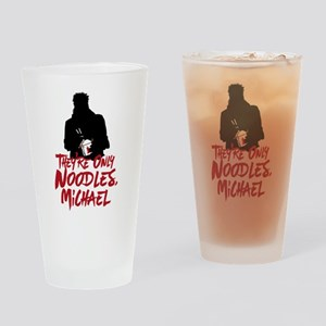 They're Only Noodles Michael Drinking Glass
