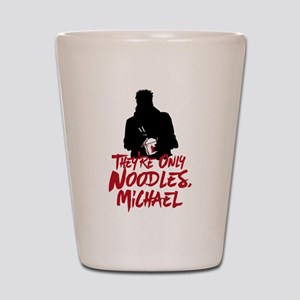They're Only Noodles Michael Shot Glass