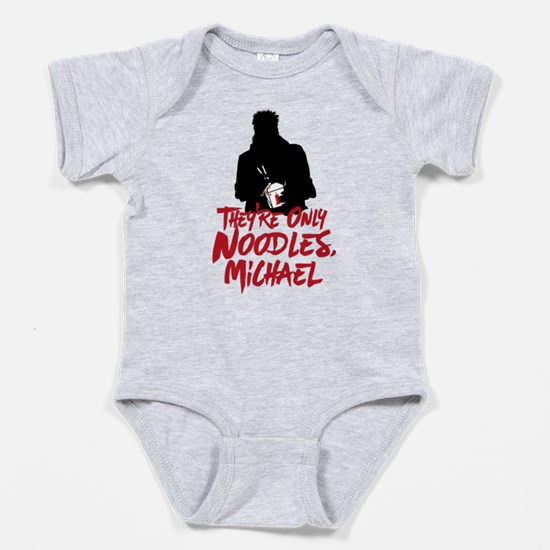 They're Only Noodles Michael Baby Bodysuit