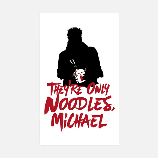 They're Only Noodles Michael Decal