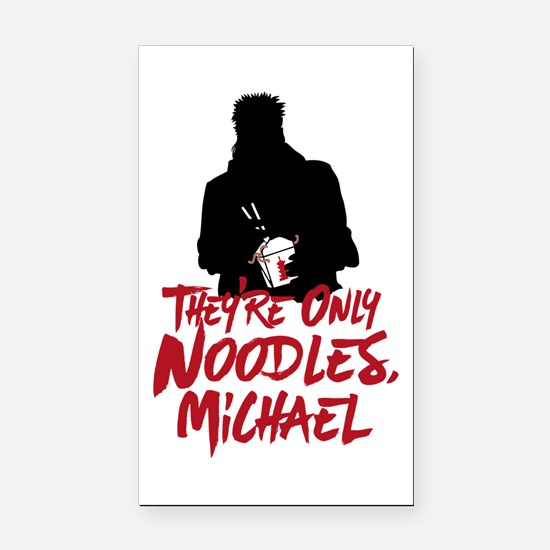 They're Only Noodles Michael Rectangle Car Magnet