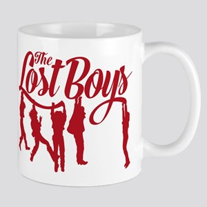 Lost Boys Hanging Off Bridge Mugs