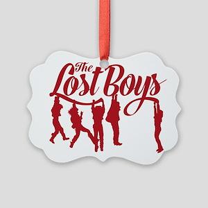 Lost Boys Hanging Off Bridge Ornament