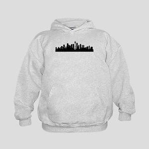 Seattle Cityscape Skyline Hoodie