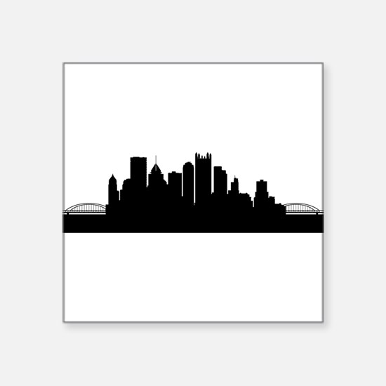 Pittsburgh Cityscape Skyline Sticker
