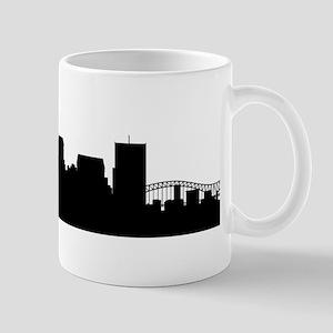 Memphis Cityscape Skyline Mugs