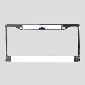 USS Texas License Plate Frame