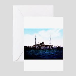 Uss texas greeting cards cafepress uss texas greeting cards m4hsunfo