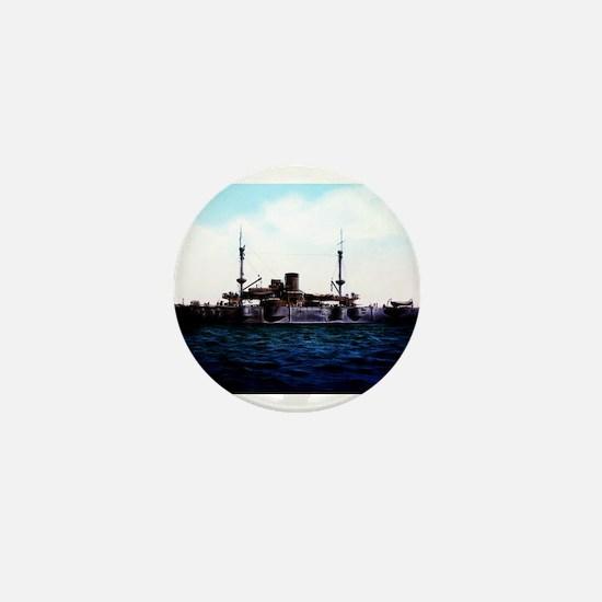 USS Texas Mini Button