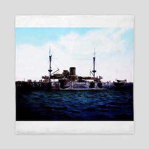 USS Texas Queen Duvet