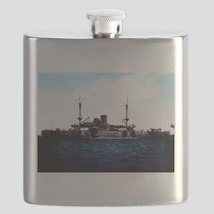 USS Texas Flask