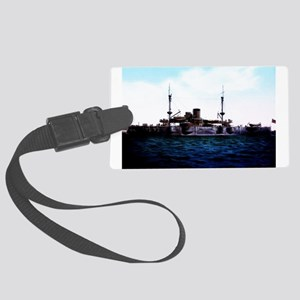 USS Texas Large Luggage Tag