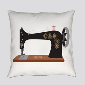 Sewing Machine 1 Everyday Pillow