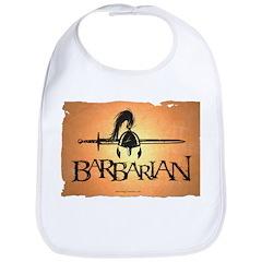 Barbarian Cotton Baby Bib