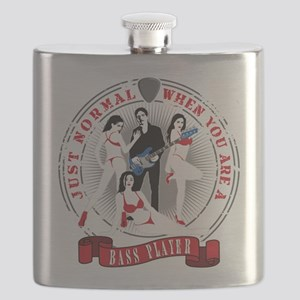 Just normal when you are a bass player Flask