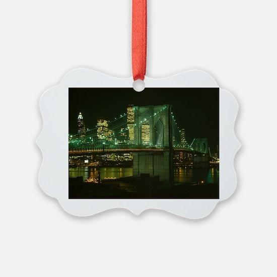 Cute Brooklyn bridge Ornament