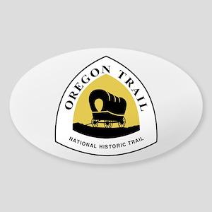 Oregon Trail Sticker (Oval)