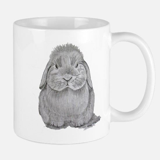Holland Lop by Karla Hetzler Mugs