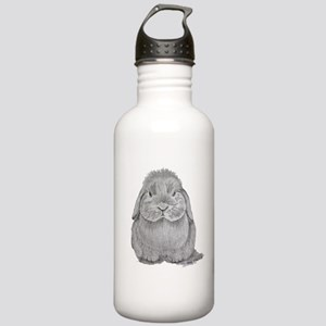 Holland Lop by Karla Hetzler Water Bottle