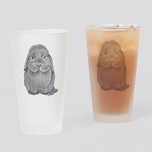 Holland Lop by Karla Hetzler Drinking Glass
