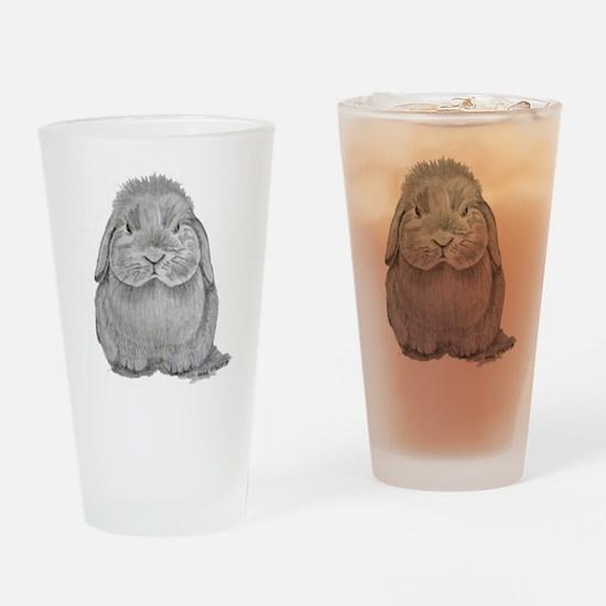 Holland Lop by Karla Hetzler Drinking Glass