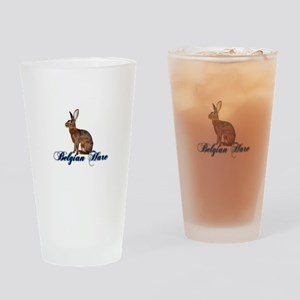 Belgian Hare Drinking Glass