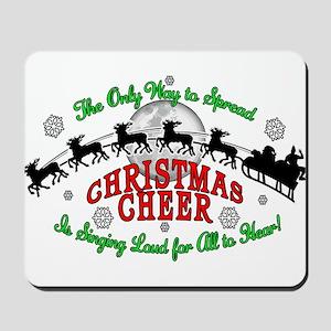Elf Christmas Cheer 2015 Mousepad