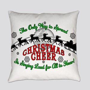 Elf Christmas Cheer 2015 Everyday Pillow