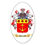 Maieroff Sticker (Oval)