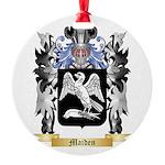 Maiden Round Ornament